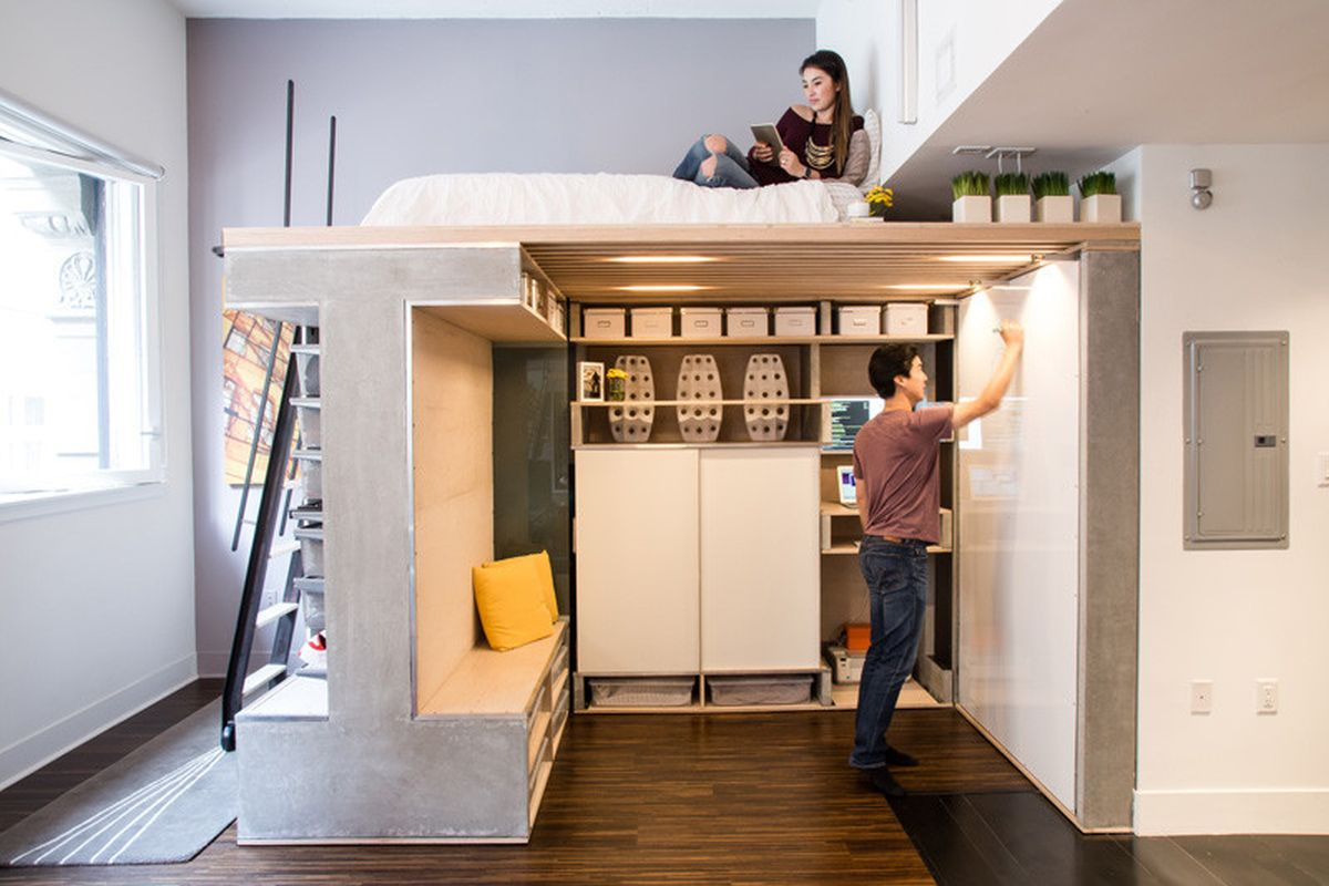 The-Domino-Loft-fold-down-bed