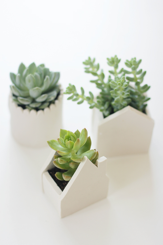 air-dry-clay-planters