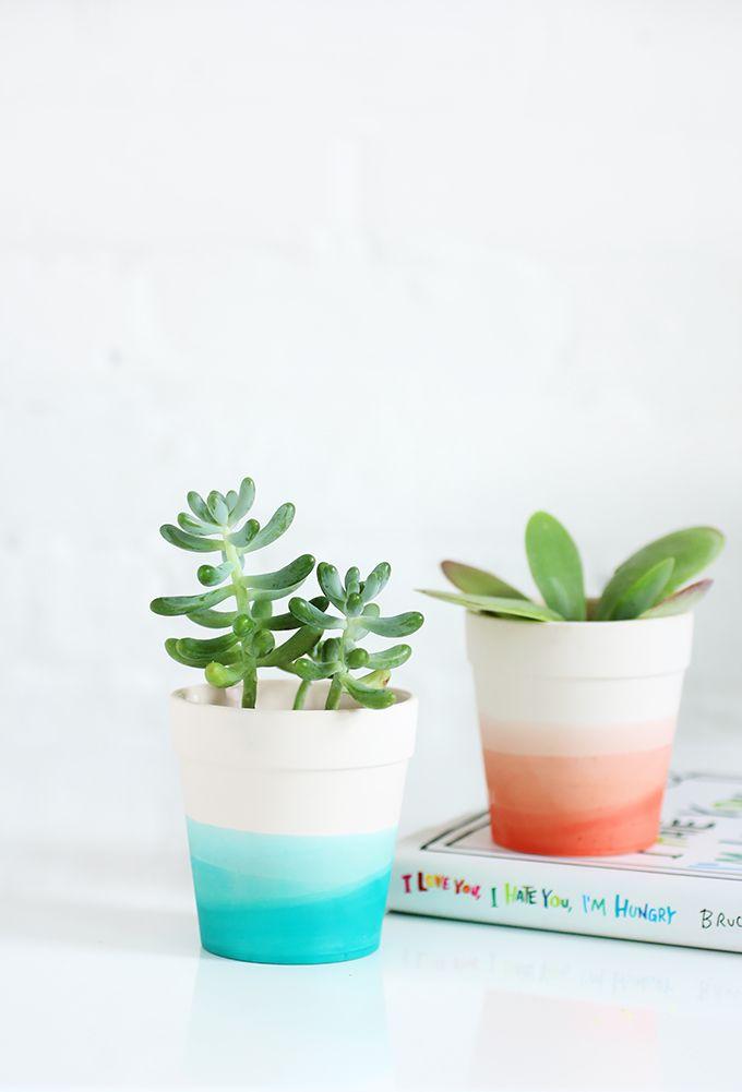 dip-dyed-diy-planter
