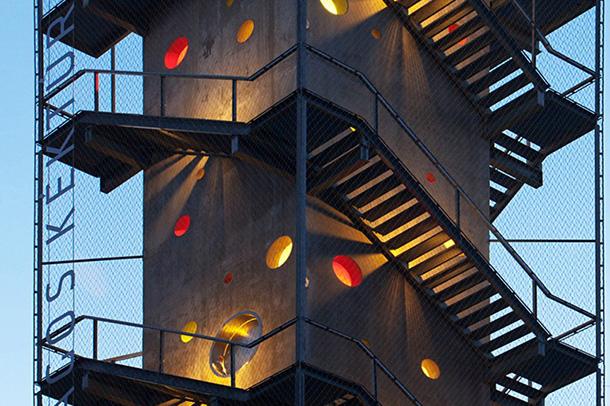 برج مراقبت galyateto کاری از گروه معماری nartarchitects