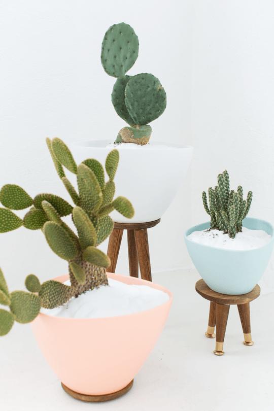 mid-century-modern-planters