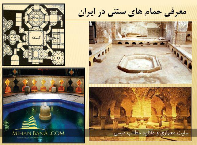 معرفی حمام های سنتی در ایران