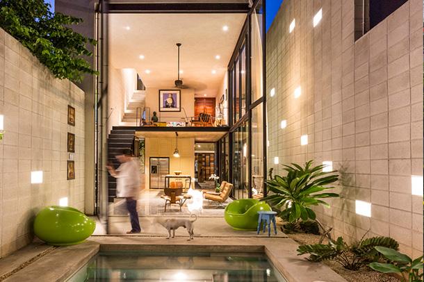 طراحی مینیمال در دی سانتیاگو مکزیک