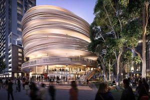 aspect studios اولین ساختمان خود را در سیدنی بنا میکند