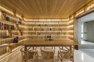 طراحی داخلی بر مبنای دکور کتابخانه / پکن