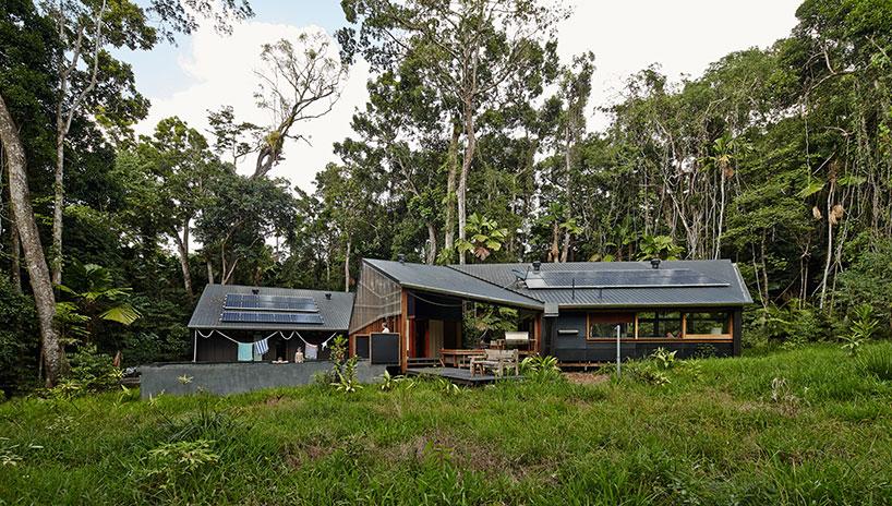 خانه ای در دل جنگل با طرحی از گروه معماری m3