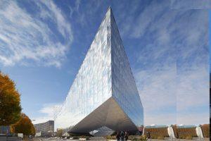 طراحی خیره کننده ساختمان اداری JTI