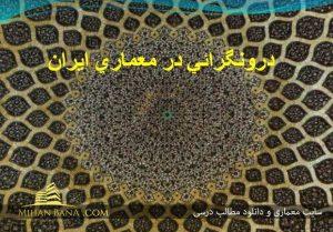 دانلود پاورپوینت دورنگرایی در معماری ایرانی