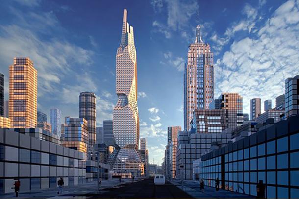 برج اسکایلر نمانی برای تمام مراحل زندگی