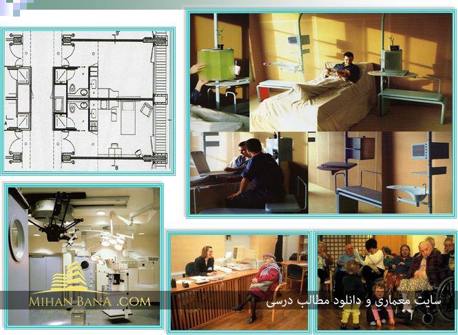 بررسی ضوابط و مقررات طراحی بیمارستان و درمانگاه