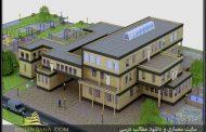 دانلود نقشه کامل خانه سالمندان همراه با رندرهای 3dmax
