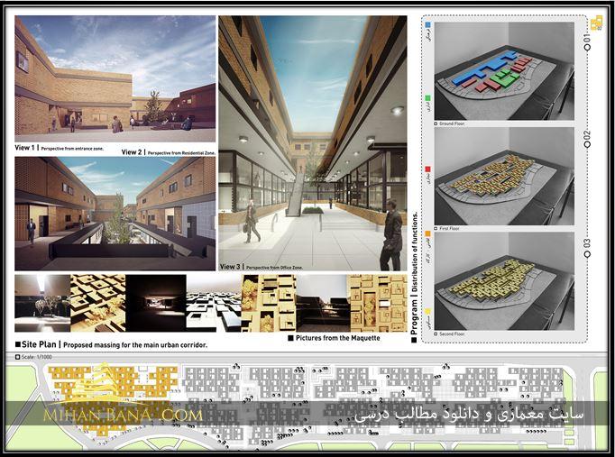 دانلود رساله طراحی فضاهای چند عملکردی شهری بر اساس معماری ایرانی اسلامی