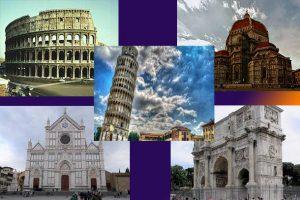بناهای تاریخی ایتالیا ; فایل word