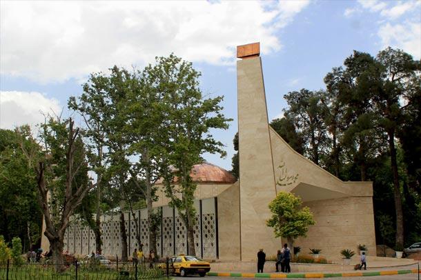 مسجد محمد رسول الله در شیراز ; طرحی مدرن بر پیکره ای سنتی