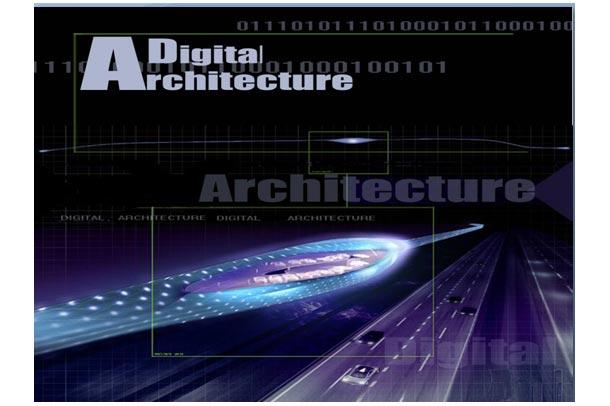 معماری دیجیتال انسان و طبیعت در قالب پاورپوینت