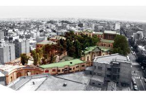 مرمت و احیاء مجموعه تاریخی مسعودیه تهران در قالب پاورپوینت