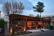 کافه مثلث شیراز با معماری ساده و دلنشین