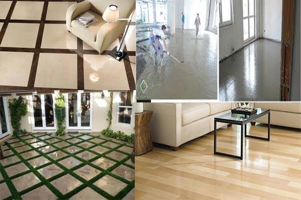 بررسی کف سازی در ساختمان با قالب پاورپوینت
