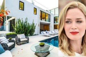 امیلی بلانت بازیگر بریتانیایی و خانه 8 میلیون دلاری اش