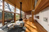 ویلای دوبلکس با تم چوب و طراحی خیره کننده ; استرالیا