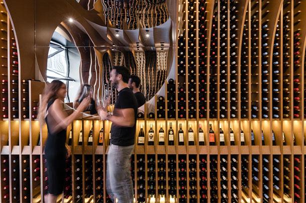 انبار شراب با طراحی خیره کننده در والادولید اسپانیا