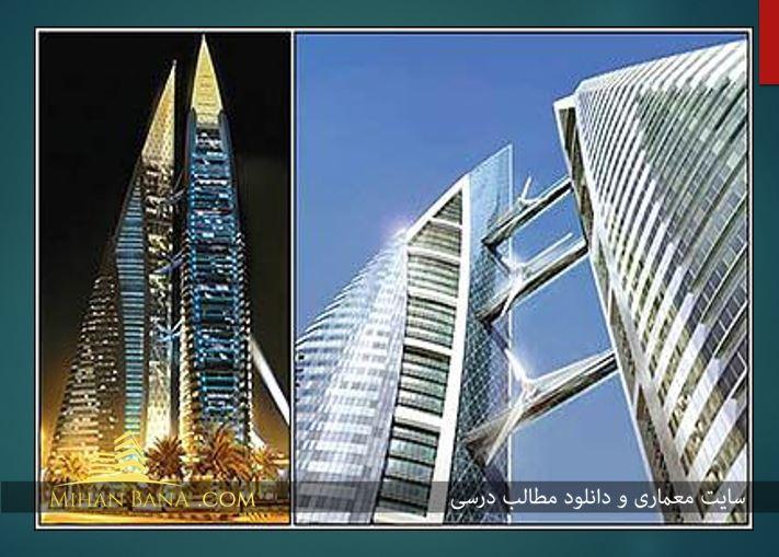 معرفی معماری مدرن متاخر در قالب پاورپوینت