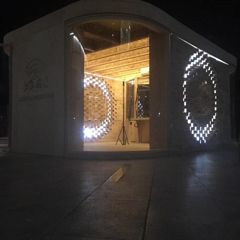 نورپردازی در طراحی نمای آجری