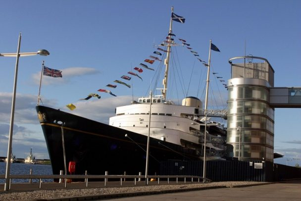 Fingal Royal Yacht Britannia, Edinburgh, Scotland